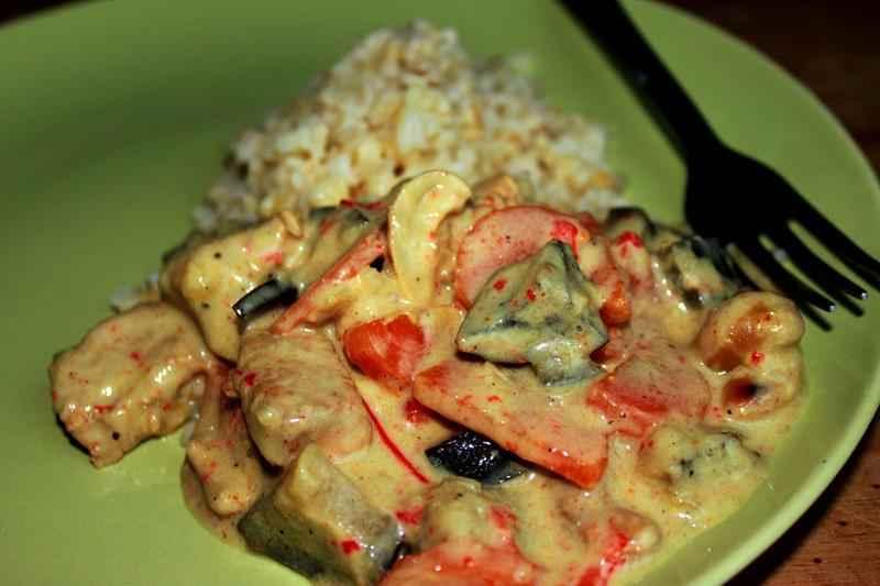 Smaczny Szybki I Zdrowy Obiad Z Piersi Indyka I Curry