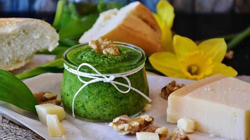 pesto z natki pieetruszki, zdroe pesto , zielone pesto , zdrowy styl joanny