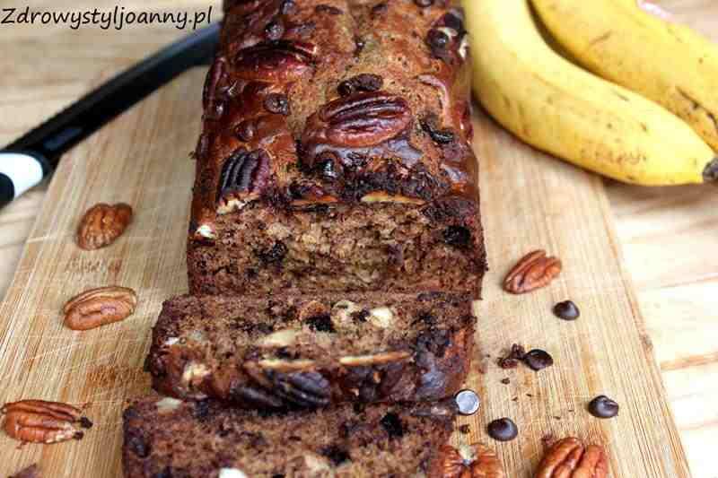 Czekoladowy chlebek bananowy z orzechami. zdrowy styl joanny, czekolada, bananay, zdrowe ciasto, fit ciasto, pyszne ciasto, ciasto z bananow, ciasto z orzechami, dieta, wiem co jem, ciasto z czekoladą, czekoladowe ciasto, ciasto z cynamonem, zdrowa dieta, odchudzanie,